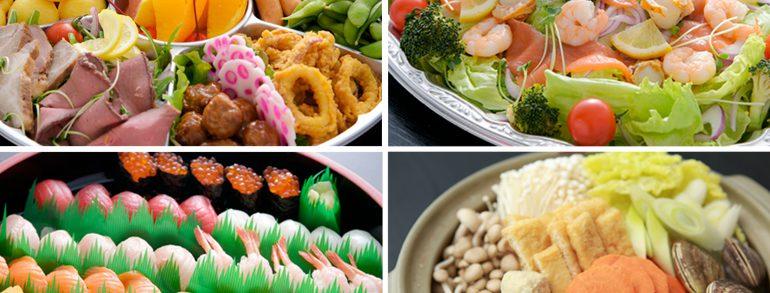 お食事オードブル【例】